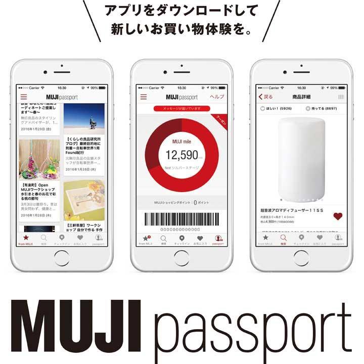 そして、MUJI Passport提示でもらえる「全品10%OFF券」もゲットしました。
