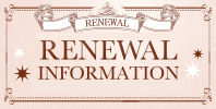 RENEWAL INFORMATION