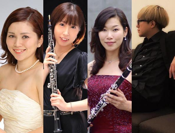 플룻・오보에・클라리넷・피아노 콘서트