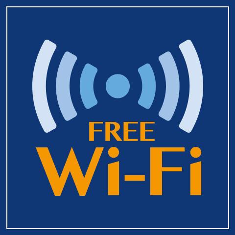 Guidance of free Wi-Fi spot