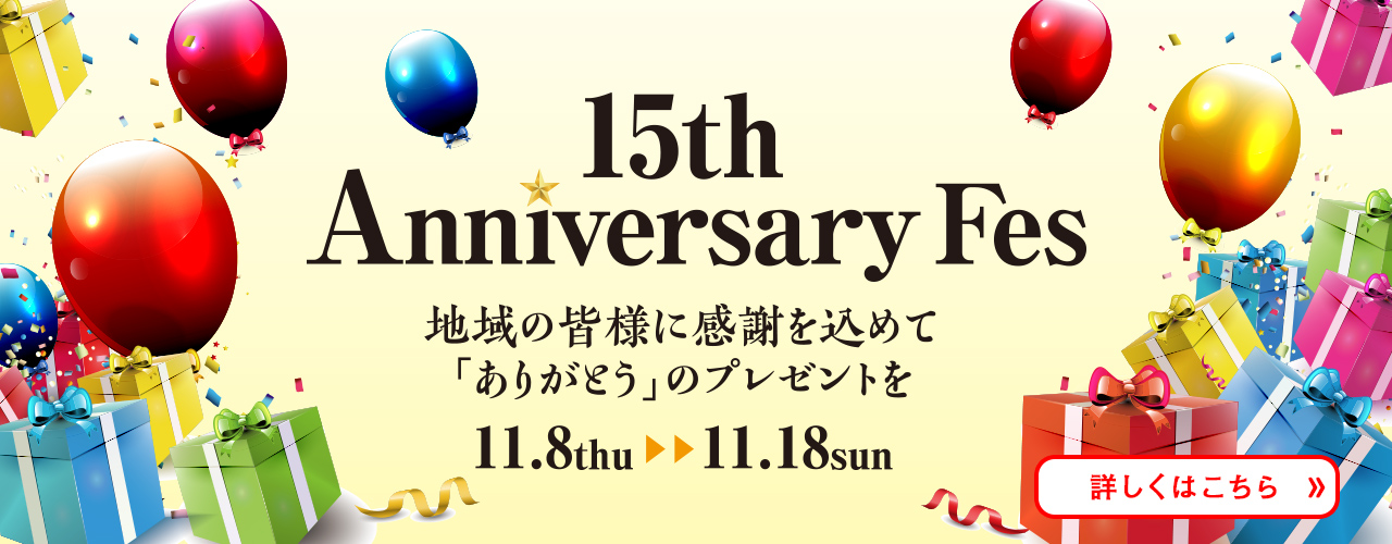 15th Anniversary Fes